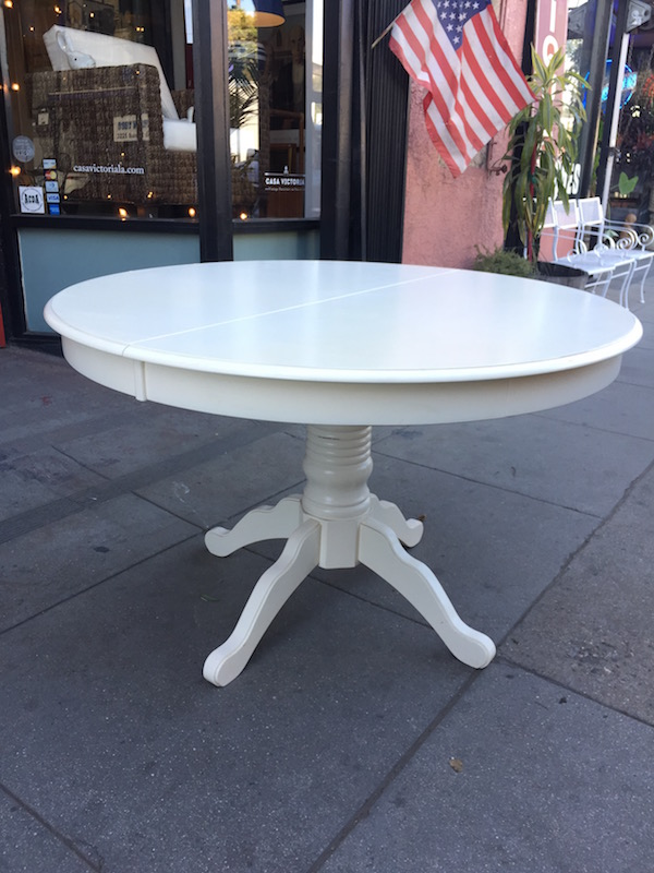 Classic Contemporary Pedestal Dining Table