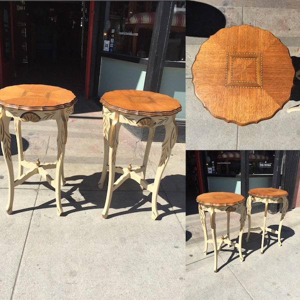1950s French Provincial Tables