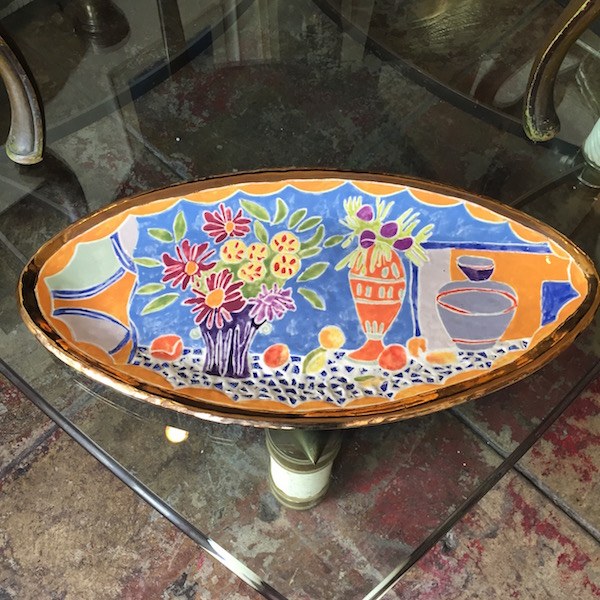 Handcrafted Mosaic Platter