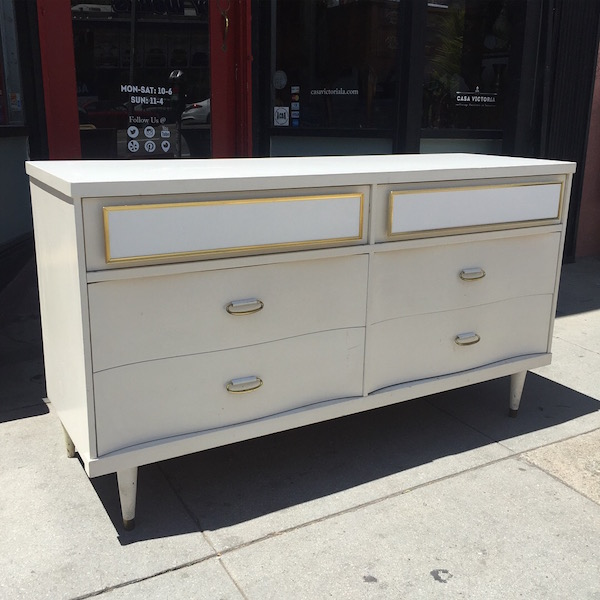 Mid-century Chest with Six Drawers