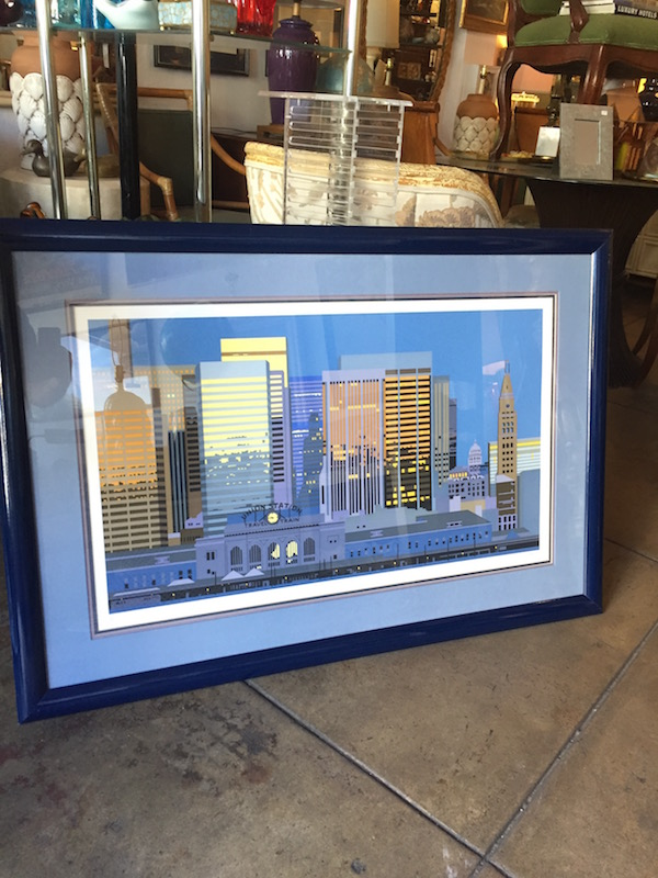 Union Station Serigraph