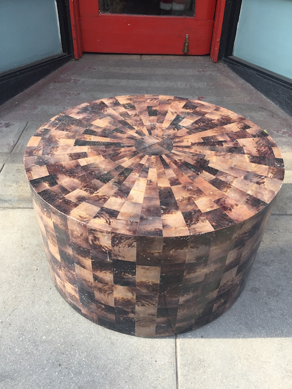 Contemporary Tessellated Coffee Table