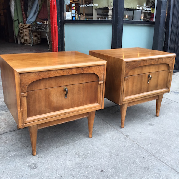 Pair of Mid-century Night Stands