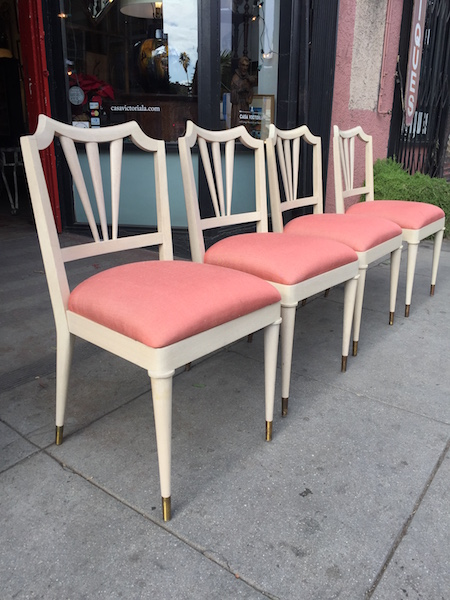 Set of Four Mid-century Dining Chairs by Paul Frankl