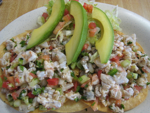 Tostadas de ceviche  Photo credit: Gil Garduño.