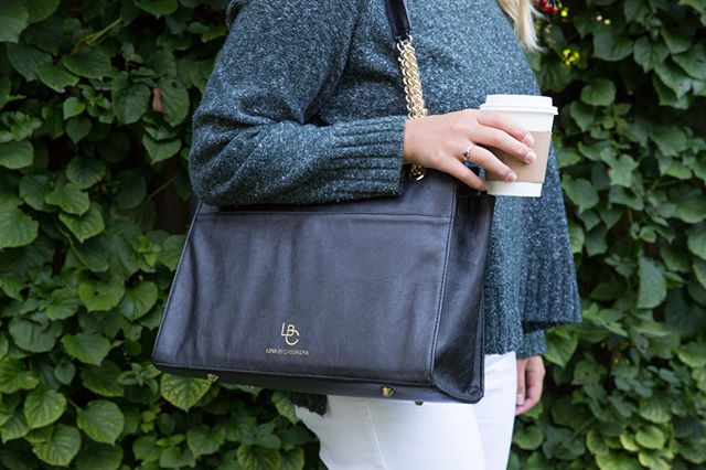 First I drink the coffee. ☕️ Then I do the things, like shop the LBC Eden #vegan leather bag using the link in bio.  Shop all our #LBC bags starting at $135, plus free standard shipping anywhere in the US. 📦  #NationalCoffeeDay
