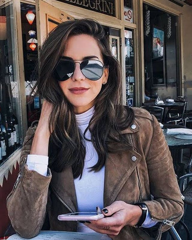 Throwing major shade. 🕶 What sunnies are you sporting on today; the classic aviator, the John Lennon inspired or the retro white? #styleoftheday