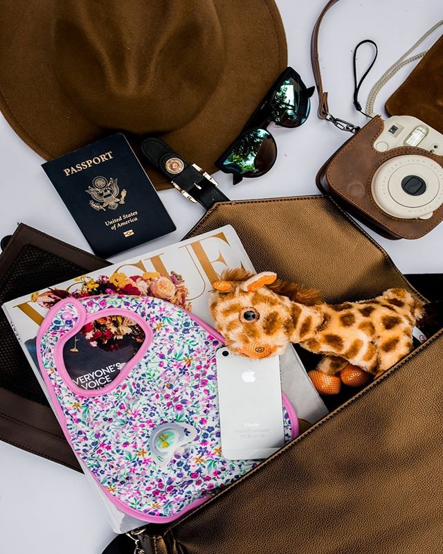 Jet-setting just got chicer. Traveling with kids can be tough. Keeping passports, boarding passes and all your necessities organized and easily accessible is easier with our #LBC bags and organizers. Shop our bags, starting at $135 plus free shipping with the link in bio. ✈️👜#travelgram