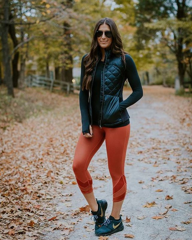 "Fall… it's simply the vest. 🍂 This weekend, make time to enjoy the foliage and crisp air, whether it be for ""mommy and me"" time or strictly ""me"" time. #fallfashion (via @a_southerndrawl)"