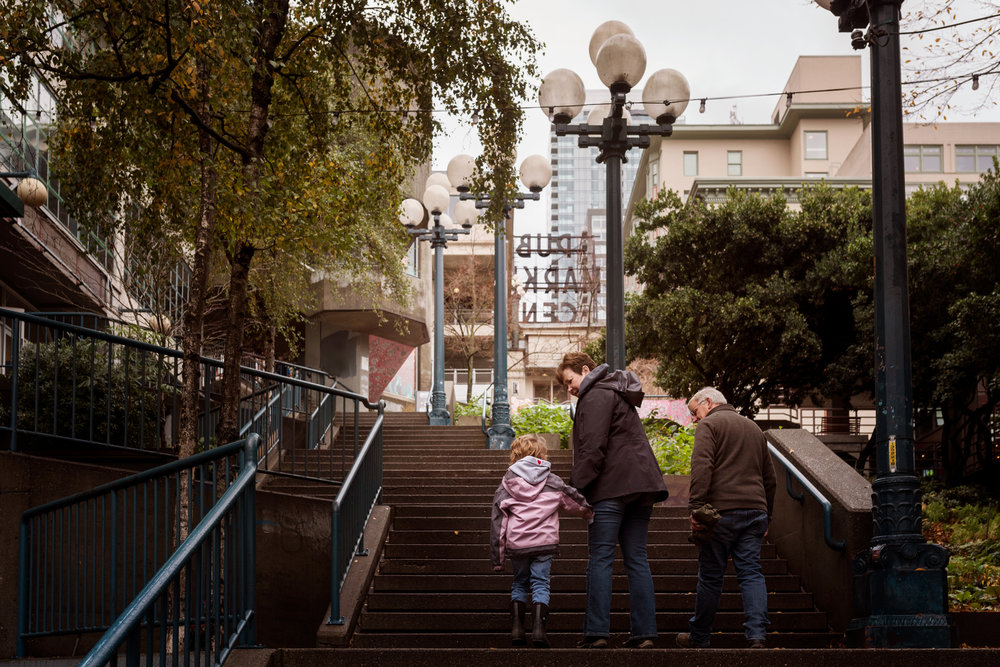day 26 {holding hands on the steps}