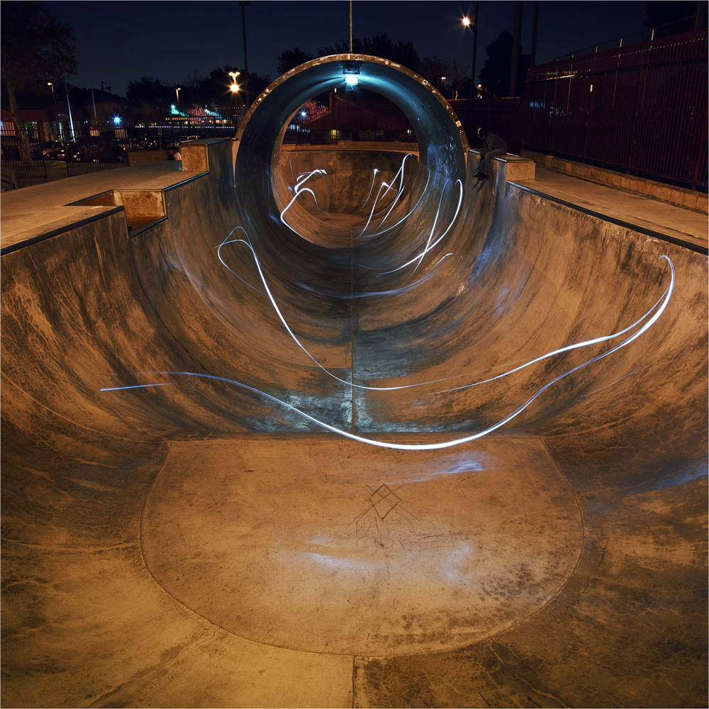 Upland Full Pipe  2007 c-print, 48 x 48 inches