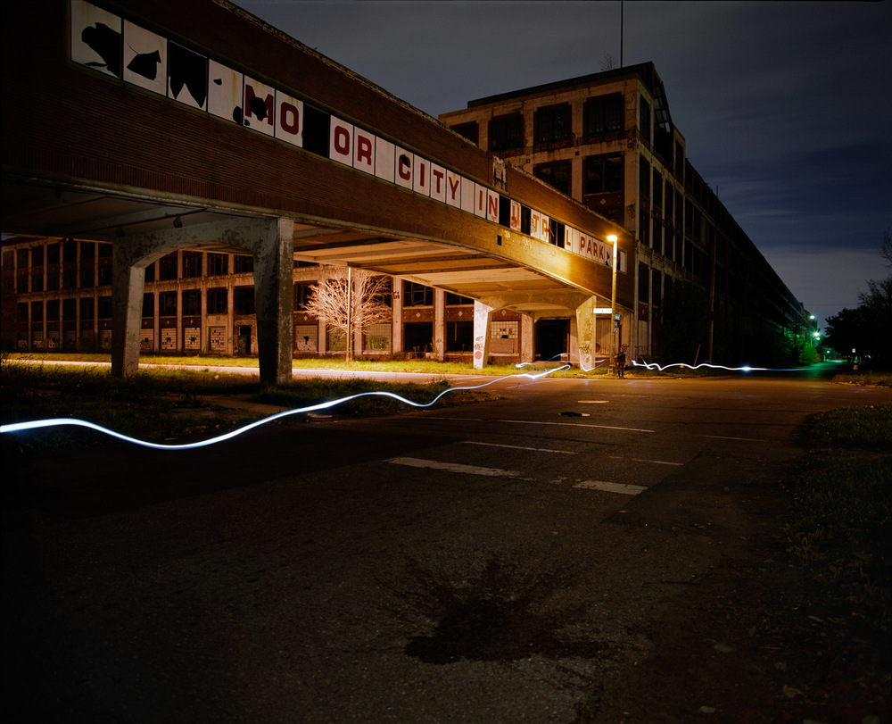 Packard Plant  2010 c-print, 48 x 56 inches
