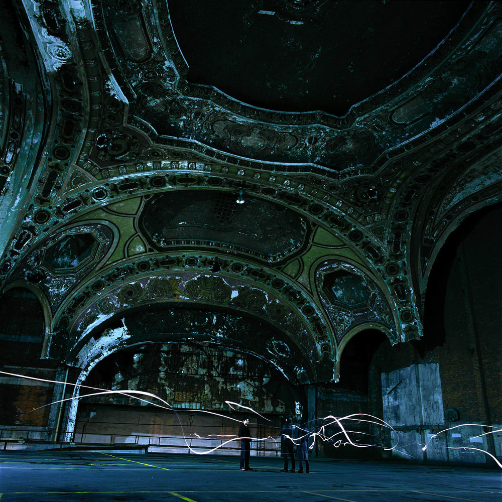 Michigan Theater  2010 c-print, 48 x 48 inches