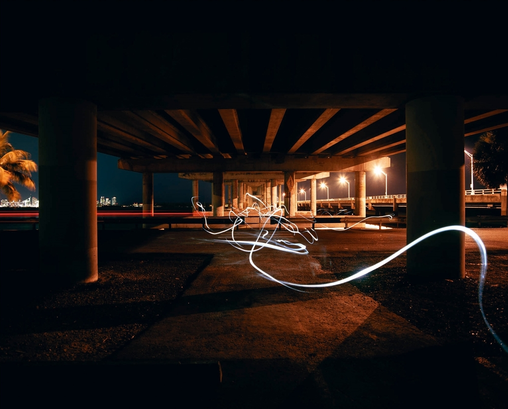 Rickenbacker Underpass  2008 c-print, 48 x 56 inches