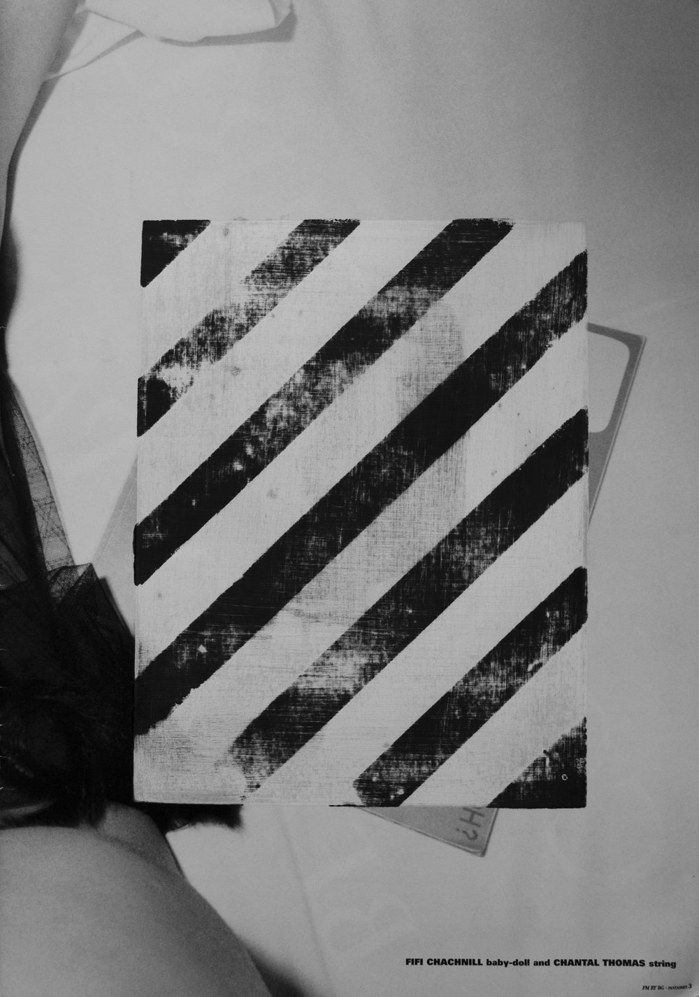 "0.0.0.6 Monochromatic printing on shot & found imagery, sometimes with the addition of old prints, removed in multiple directions, methods & intensities.  15.75"" x 11"""