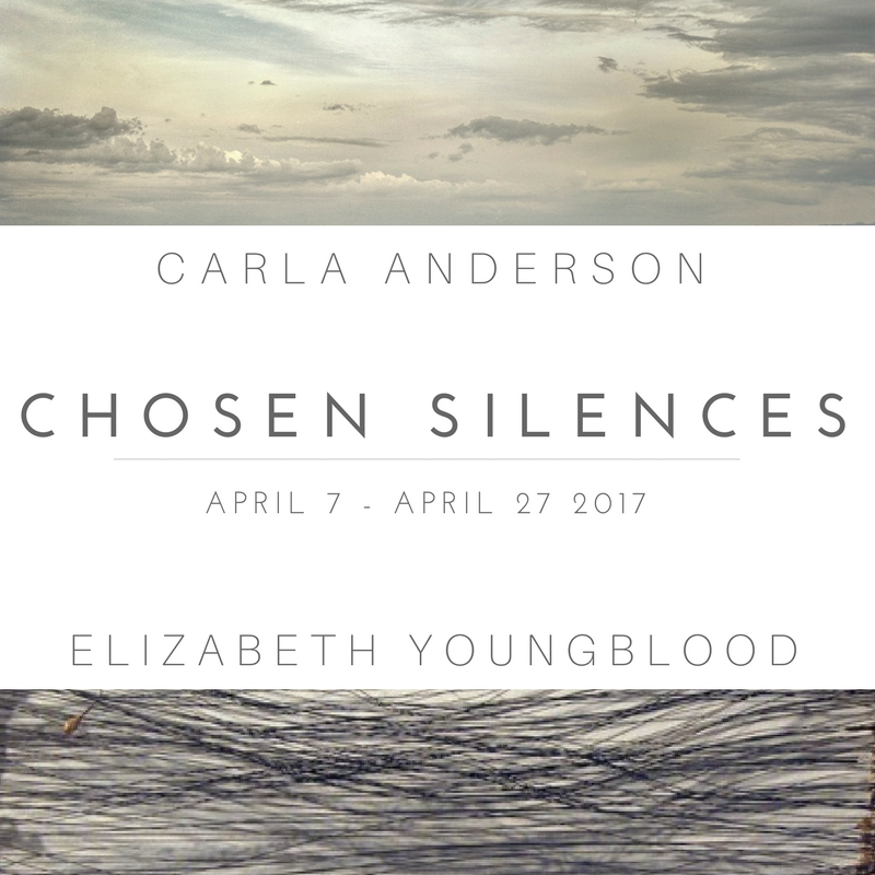 April Exhibition Chosen Silences