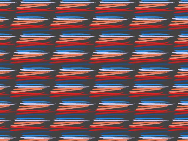 tammie bennett repeat pattern sunset stripe
