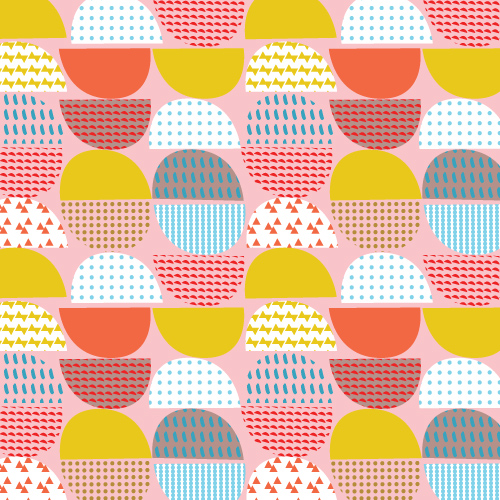 repeat surface pattern pattern collage by tammie bennett