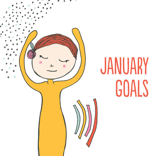 tammie bennett's  monthly goals for january 2013