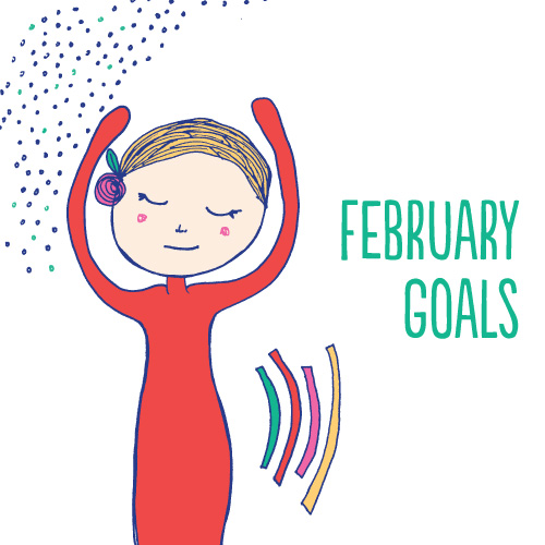 tammie bennett's monthly goals for february 2013
