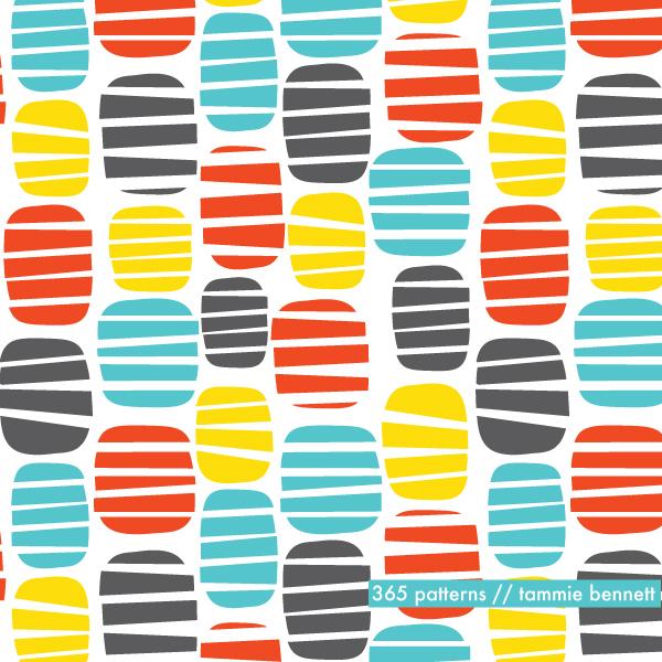 tammie bennett's buoy repeat pattern