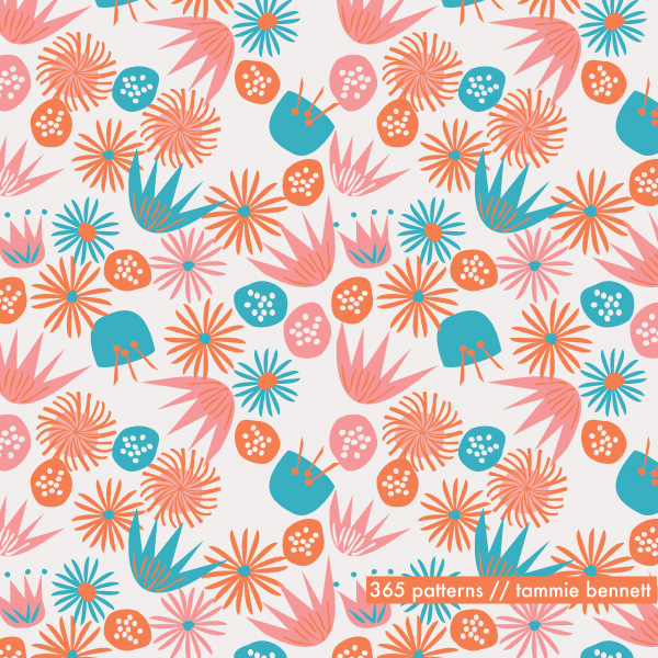 fairy flowers pattern
