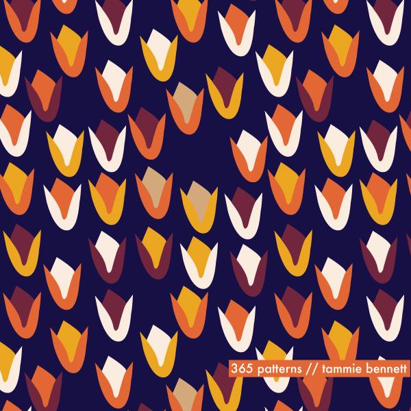 tbennett foxflower repeat pattern