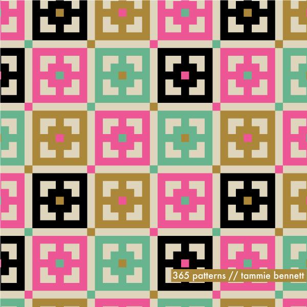 tbennett- grid squares pattern