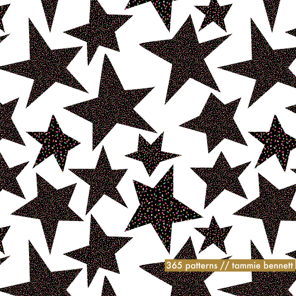 starfield repeat pattern