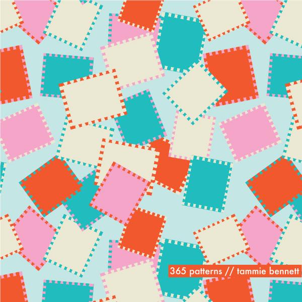 tammie bennett stamps pattern
