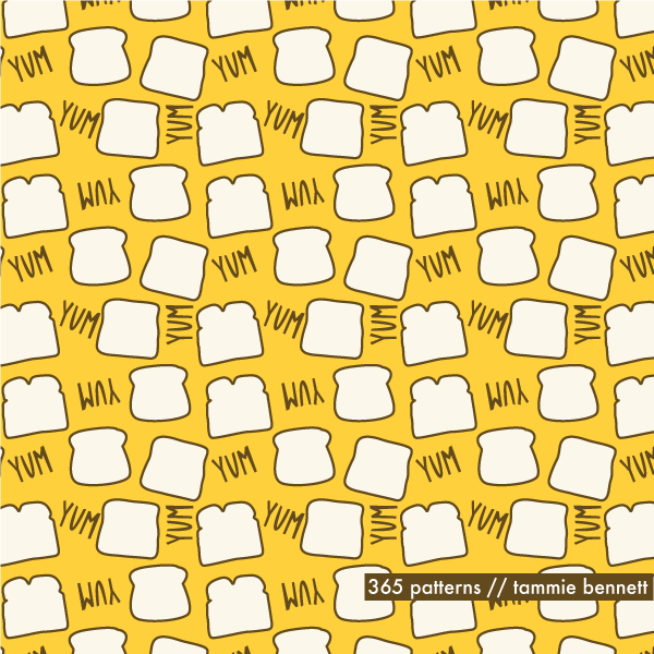bread repeat pattern