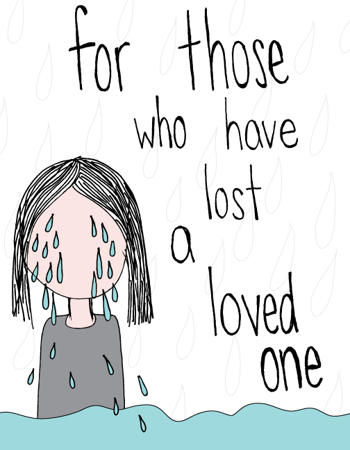 for those who have lost loved ones illustration
