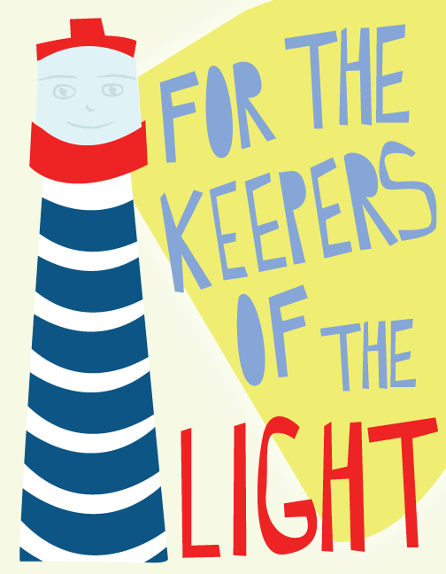 dear universe keepers of the light illustration