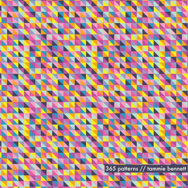 tiny triangles repeat pattern
