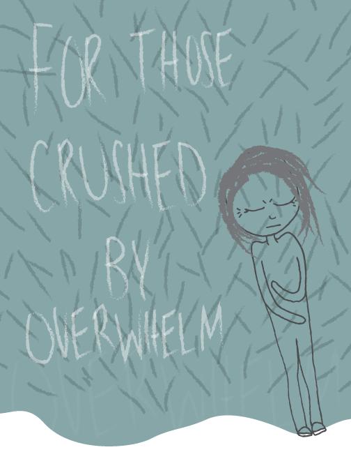 overwhelmed illustration