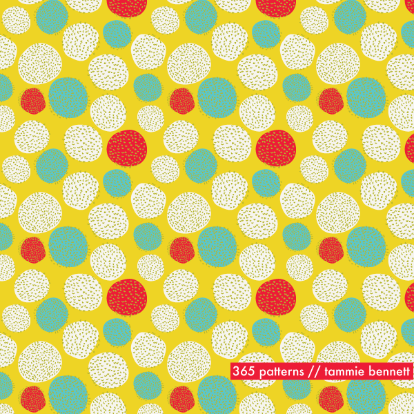 razzflower repeat pattern