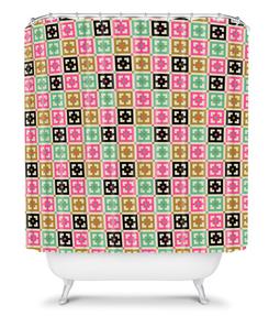 tammie bennett's shower curtain on deny designs