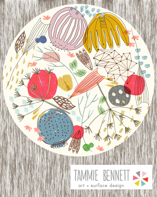tammie bennett dinner plate
