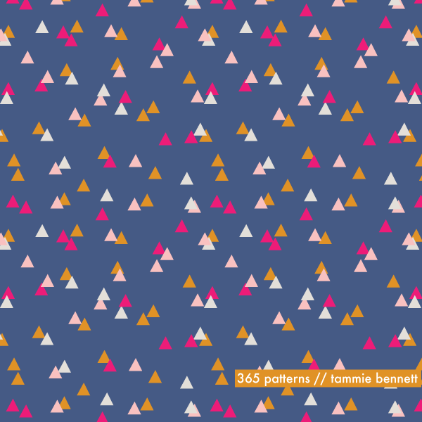 tammie bennett's triangle camp pattern