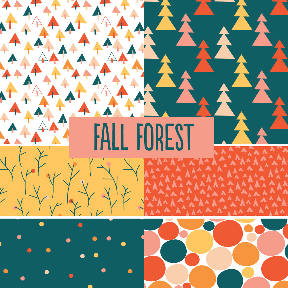© tammie bennett :: fall forest collection