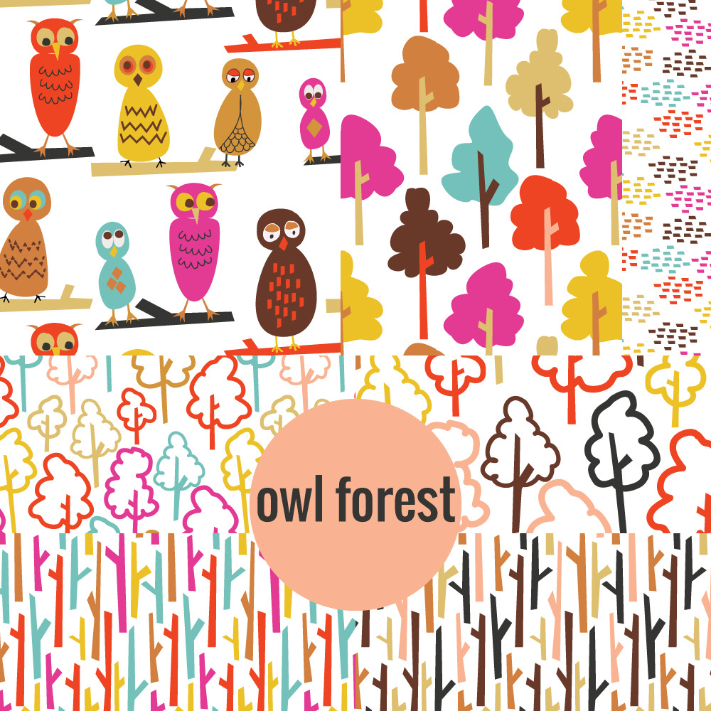 © tammie bennett :: owl forest cover