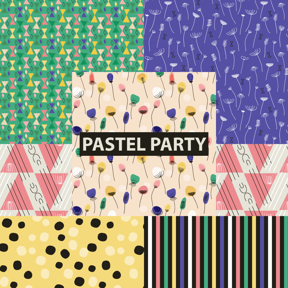 © tammie bennett :: pastel party cover