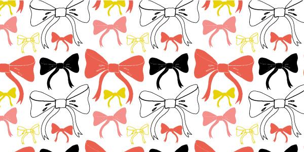tammie bennett's bow repeat pattern