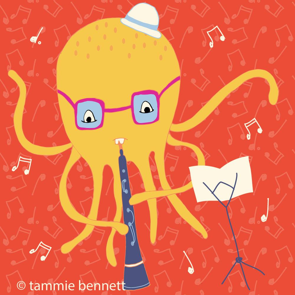 tbennett-o is for octopus