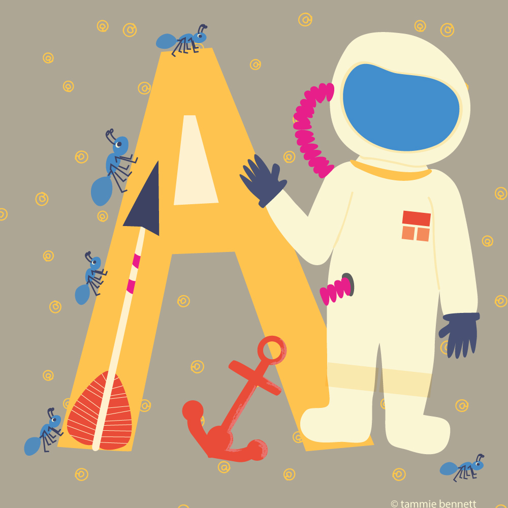 tbennett a is for astronaut