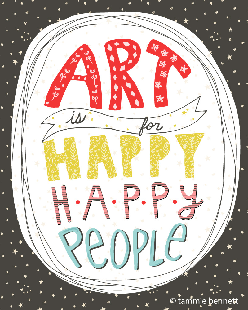 tbennett-art is for happy happy people