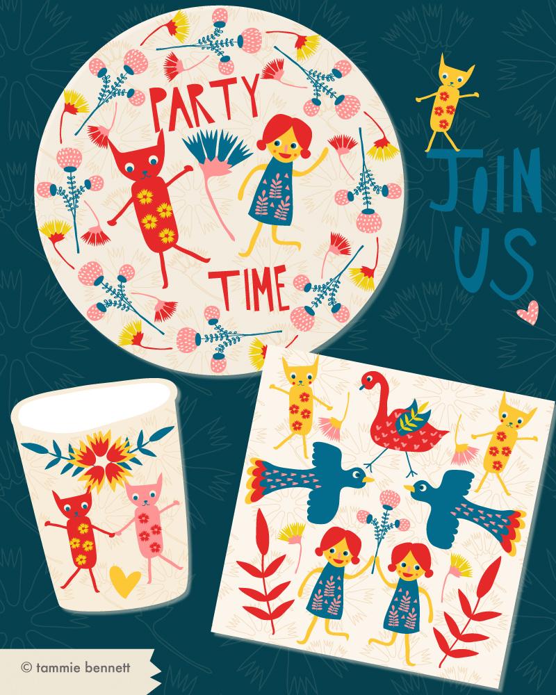 tbennett-folk art party
