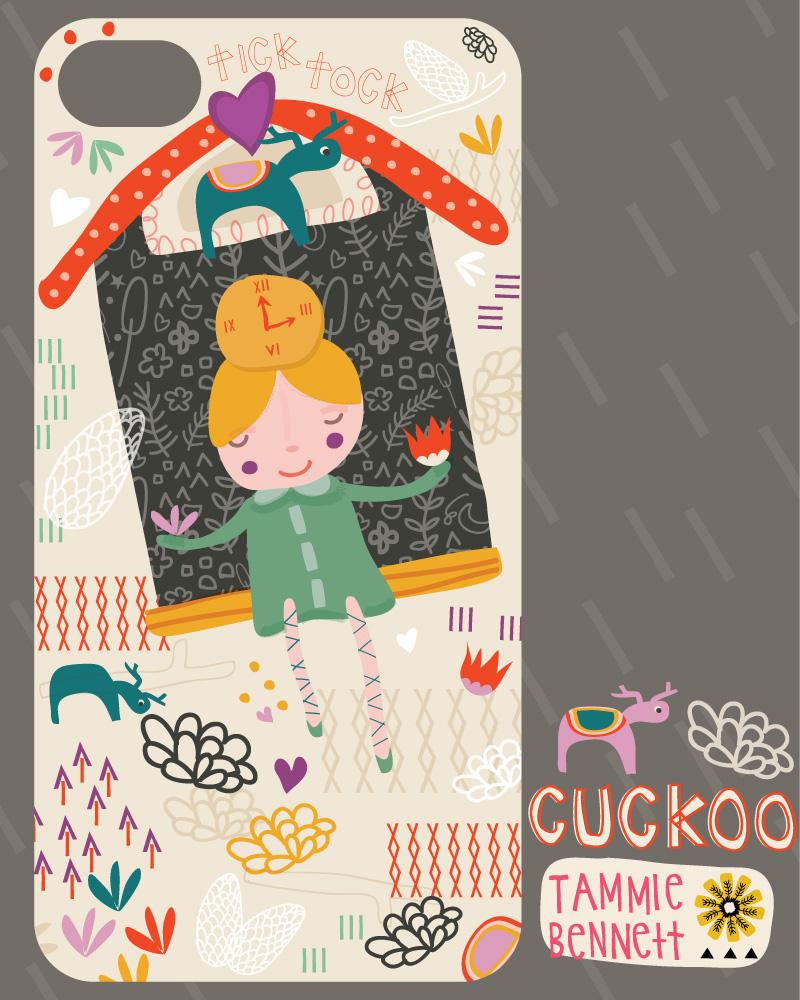 tbennett cuckoo clock girl
