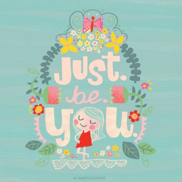 jill howarth - just be you
