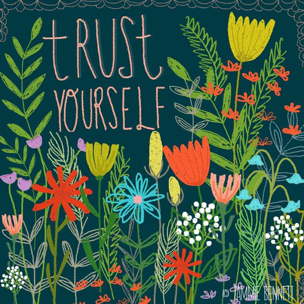 tammie bennett's trust yourself